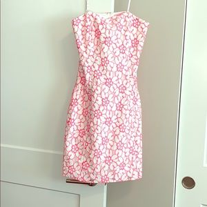 NWOT Lilly Pulitzer strapless lace dress!